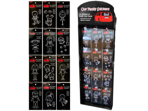 Wholesale: Family Car Sticker Display