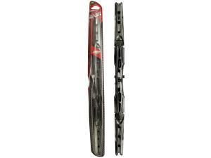Black Chrome 20 Inch Dual Wiper Blade
