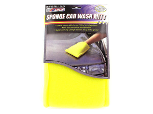Wholesale: Sponge Car Wash Mitt