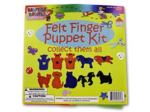 Wholesale: Felt finger puppet kit