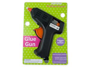 Wholesale: Trigger Action Hot Glue Gun With Glue Sticks