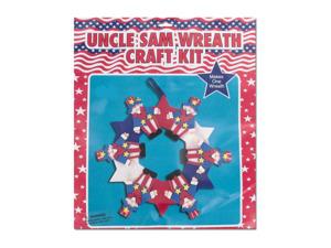 Wholesale: Uncle sam wreath kit