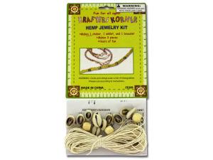 Wholesale: Do-it-yourself hemp jewelry kit