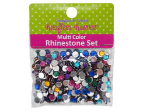 Wholesale: Multi-Color Rhinestone Set