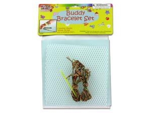 Wholesale: Buddy bracelet craft set