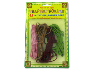 Wholesale: Imitation Leather Cords