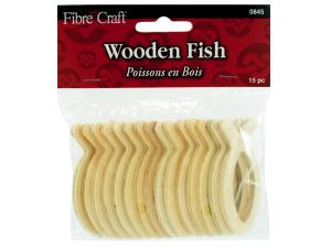 Wholesale: Wooden fish emblem