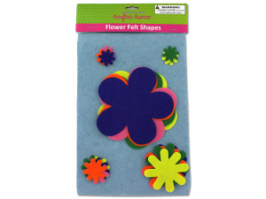 Wholesale: Felt Flower Cut-Outs