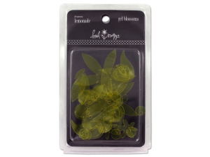 Wholesale: Gel blossoms for scrapbooking, paper crafting, pack of 20