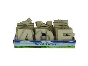 Wholesale: Wood letters display