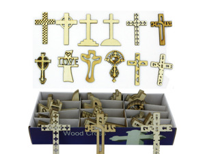Wholesale: Wood cross display