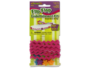 Wholesale: Flip flop embellishment kit