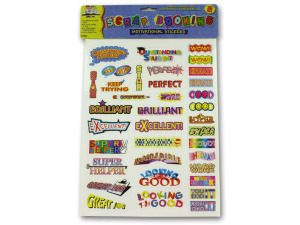 Wholesale: School motivational stickers