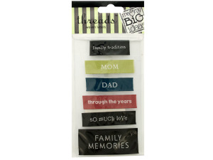Wholesale: Family Woven Labels