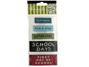 Wholesale: School Woven Labels