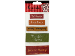 Wholesale: Thanksgiving Woven Labels