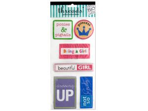 Wholesale: Girl Jumbo Woven Labels