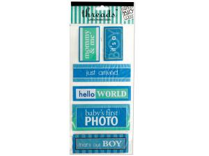 Wholesale: Baby Boy Jumbo Woven Labels