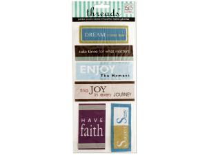 Wholesale: Inspirational 2 Jumbo Woven Labels