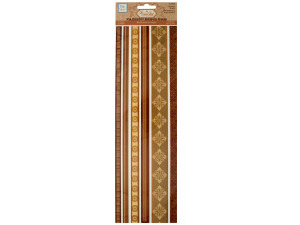 Wholesale: Browns Decorative Fabric Borders Stickers