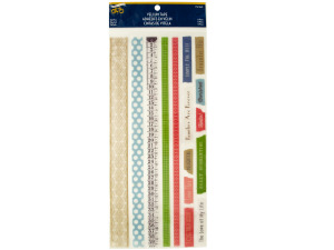 Wholesale: Sweet Summertime Vellum Tape Strips