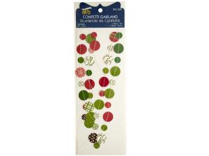 Wholesale: Christmas Confetti Craft Garland