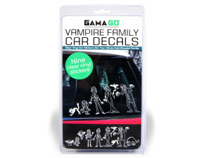 Vampire Family Vinyl Car Decals