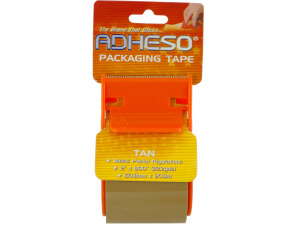 Wholesale: Tan Packaging Tape with Dispenser