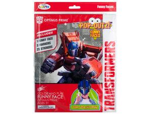 Wholesale: Transformers Pop-Outz! Funny Faces