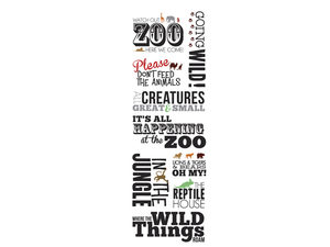 Wholesale: Momenta Stickers with 9 Zoo Phrases