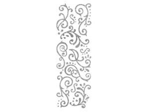 Wholesale: Momenta 50 Piece Silver Glitter Stickers