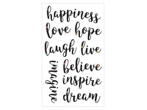 Wholesale: Momenta 9 Piece Happiness Stickers with Gems