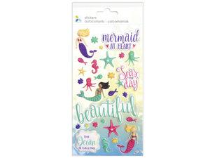 Wholesale: Momenta 29 Piece Puffy Mermaid Stickers
