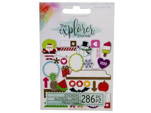 Wholesale: Momenta 286 Piece Sticker Journal