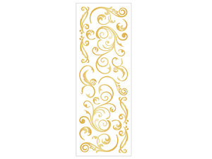 Wholesale: Momenta 16 Piece Puffy Gold Stickers