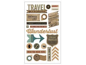 Wholesale: Momenta 24 Piece 3D Travel Stickers