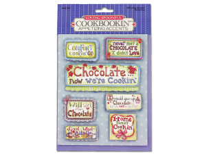 Wholesale: Cookbook papercrafting accents
