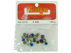 Wholesale: Blue Rhinestones with Mounts