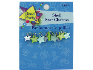 Wholesale: Pastel Shell Star Charms