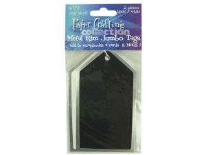 Wholesale: 2pc blk/white tags 4172x1