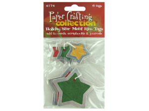 Wholesale: Star Metal Rim Tags