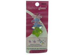 Wholesale: Handmade Pastel Glass Bead Charms