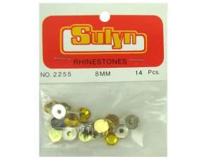 Wholesale: Gold Rhinestones