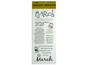 Wholesale: March Theme Stickers
