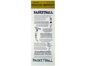 Wholesale: Basketball facts/theme sticker sheet