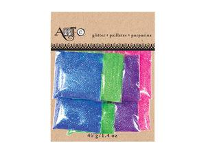Wholesale: Artc Metallic Craft Colorful Glitter Pack of 8