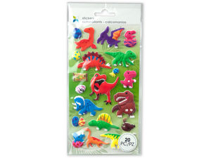 Wholesale: Momenta Extra Puff Dinosaurs Stickers
