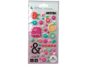 Wholesale: Momenta Extra Puff Friendship Stickers