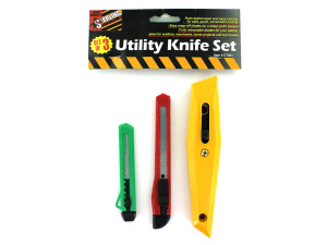 Wholesale: Multi-Purpose Utility Knife Set