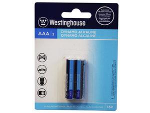 Wholesale: Westinghouse Dynamo Alkaline 2 Pack AAA Battery